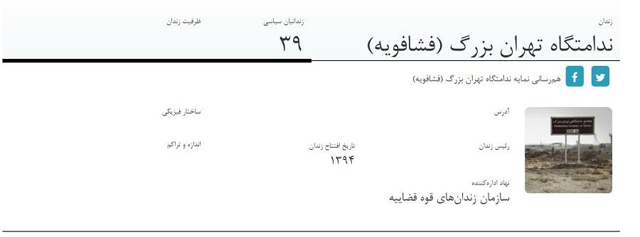 برای مشاهده نمایه زندان فشافویه روی تصویر کلیک کنید
